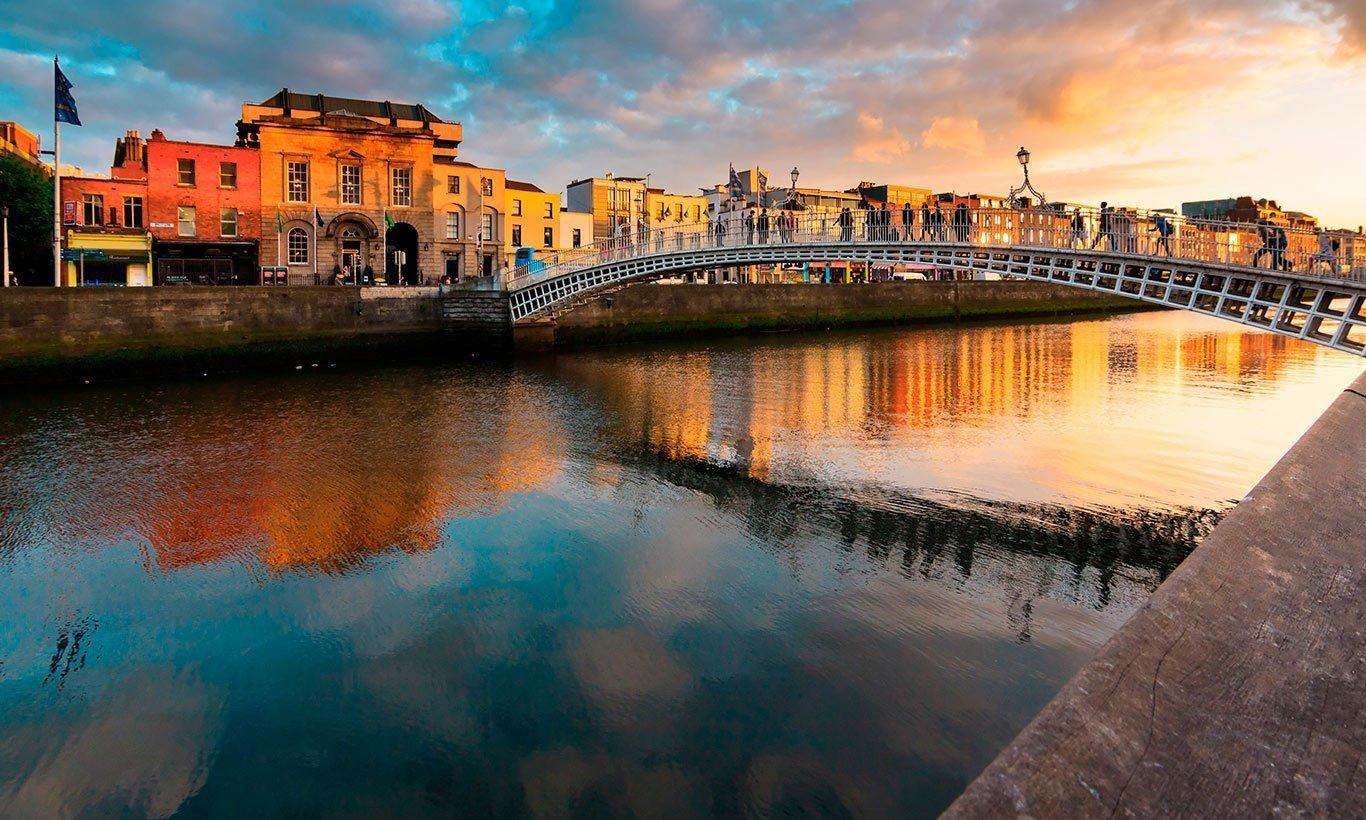 Curso na Irlanda
